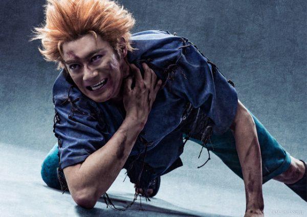 舞台「NARUTO」暁メンバーのビジュアルがリアルすぎ!鬼鮫怖すぎるw