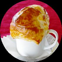 雲海パイ包みスープ ソラカフェ ソラテラス