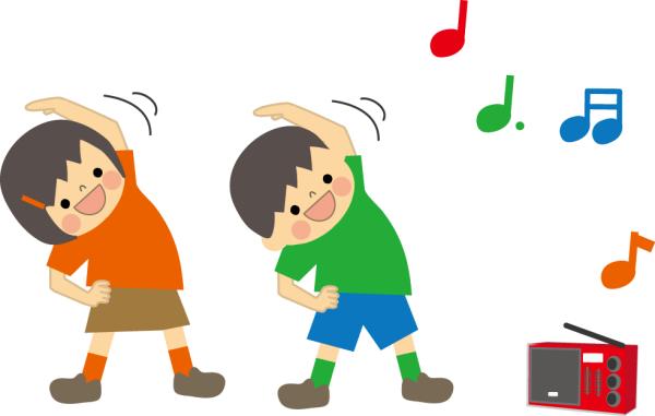 ラジオ体操 ムズムズ体操
