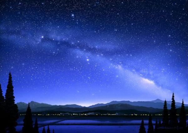 「日本一の星空」阿智村天空の楽園で冬季限定マッピングショー開催!