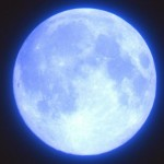 ブルームーンはいつ見れる?ブルーなのに青くない理由とは?見ると幸せになれる青い月