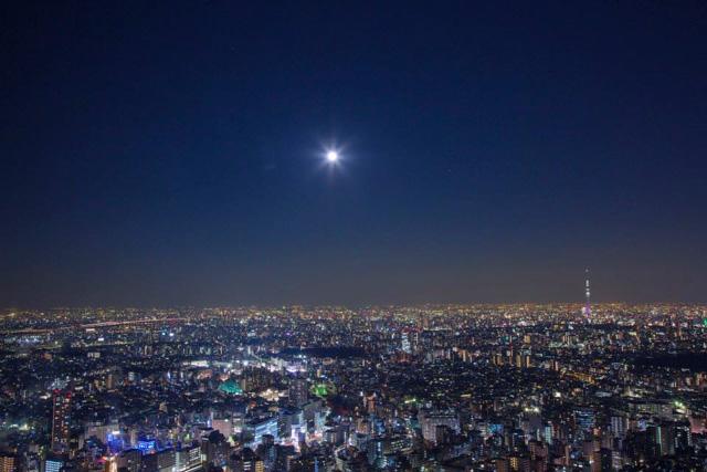 スーパームーンとダイヤモンド富士2016を池袋で観測できる方角・時間は?11月14日を逃すともう見れない!?