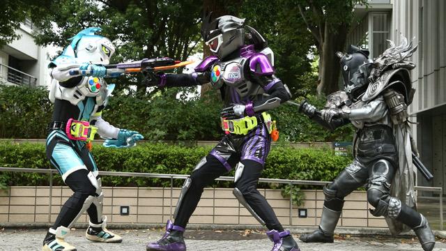 仮面ライダー第7話レーザーレベル3