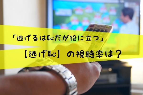 【逃げ恥】視聴率は?TBSの火枠ドラマ歴代最高を更新中?アドリブ演技は必見!