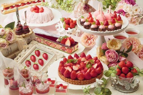 あまおうスイーツビュッフェ京都の日程・値段・ケーキの種類は?予約必須!