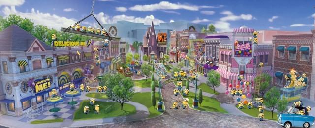 USJ「ミニオン・パーク」オープン日はいつ?絶対楽しいエリアが初公開!