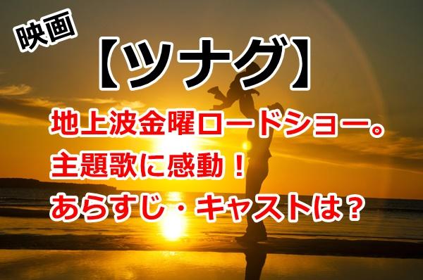 映画【ツナグ】地上波金曜ロードショー。主題歌に感動!あらすじ