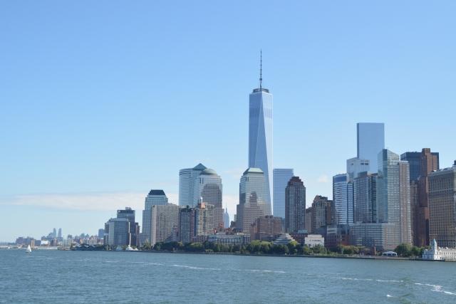景色,外国,マンハッタン