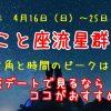こと座流星群2017の方角と時間のピークは?大阪デートで見るならココがおすすめ!