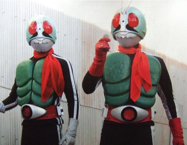 仮面ライダー初代1号2号