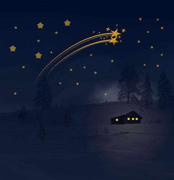 流れ星,願い事